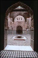 Patio de la madrasa de Attarine