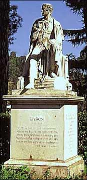 Estatua de Lord Byron